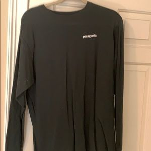 Dark green long sleeve Patagonia shirt